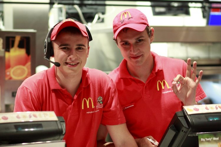 McDonald's работа