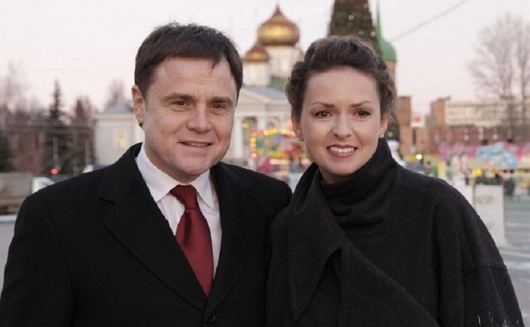 Владимир Груздев с женой