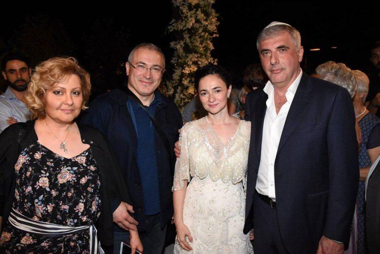 Михаил Ходорковский семья
